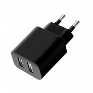 Deppa СЗУ 2 USB 2.1А, черный, Ultra (11308)