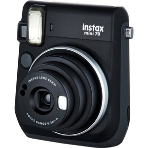 Фотоаппарат мгновенной печати Fujifilm Instax Mini 70 Black EX D