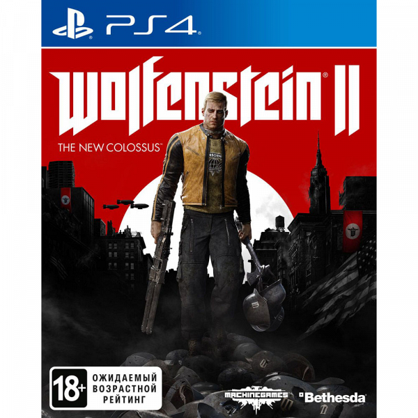 Wolfenstein II: The New Colossus PS4, русская версия Wolfenstein II: The New Colossus, русская версия фото