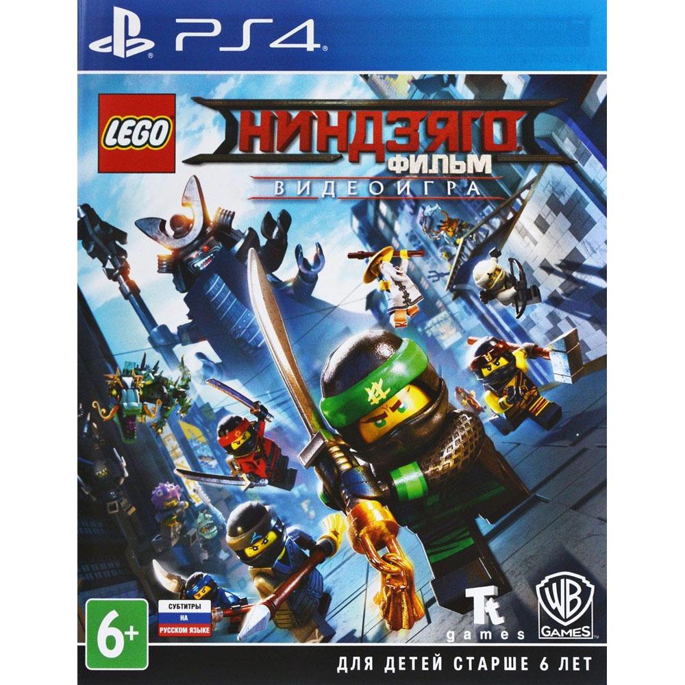 LEGO: Ниндзяго Фильм. Видеоигра PS4, русские субтитры