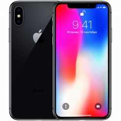 Смартфон Apple iPhone X 64GB Space Gray Refurbished
