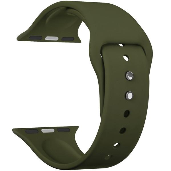 Ремешок для умных часов Lyambda Altair 42/44 мм, оливковый (DS-APS08-44-OL)