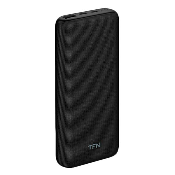 Внешний аккумулятор TFN Slim Duo PD PB-219-BK 10000 мАч, черный фото