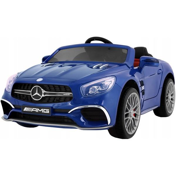Детский электромобиль Toyland Mercedes Benz SL 65 синий фото