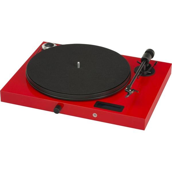 Проигрыватель виниловых пластинок Pro-Ject JUKE BOX E (OM 5E) RED.