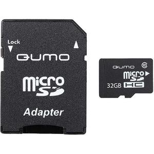 Qumo MicroSD 32GB Class 10 High-Capacity