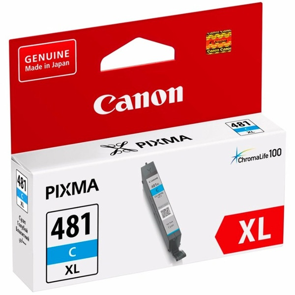 Картридж Canon INK CLI-481XL C EMB