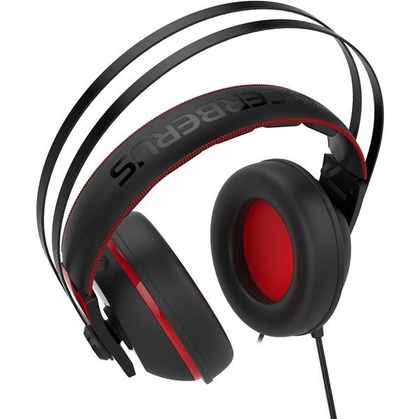 Компьютерная гарнитура ASUS Cerberus V2 красные/черные (90YH015R-B1UA00) фото