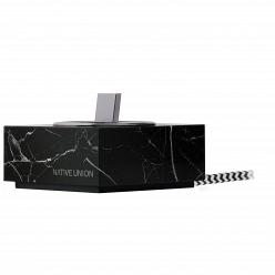 Док-станция Native Union dock + Lightning Marble Edition Black