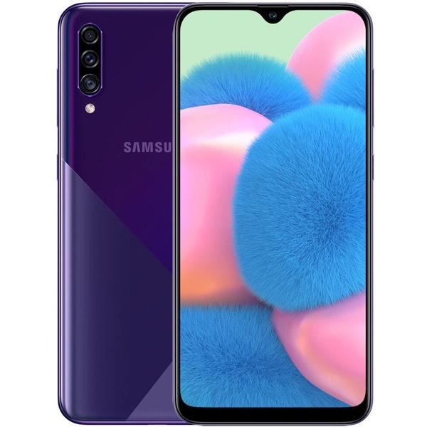 Смартфон Samsung Galaxy A30s (2019) 32 ГБ фиолетовый фото