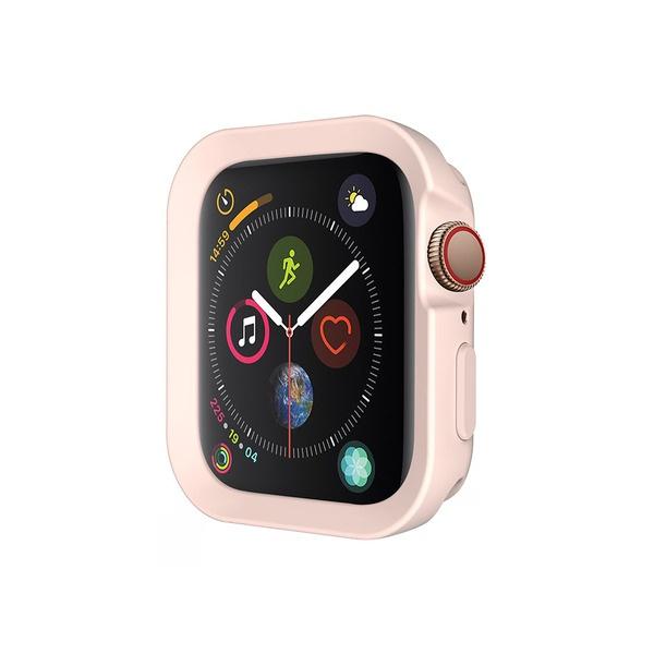 Чехол SwitchEasy Colors 44 мм для Apple Watch 4, розовый