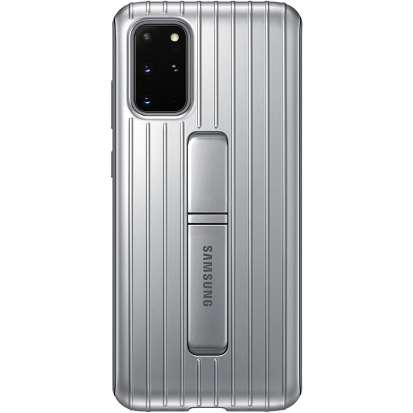 Чехол для смартфона Samsung Protective Standing Cover Galaxy S20+, silver фото
