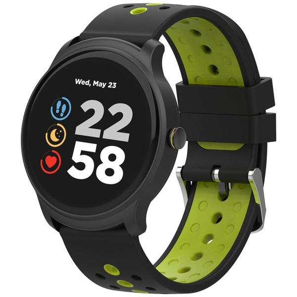 Смарт-часы Canyon Oregano (CNS-SW81BG) черный/зеленый, красный  - купить со скидкой