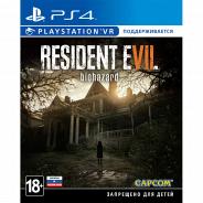 Resident Evil 7: Biohazard (поддержка VR) PS4, русские субтитры