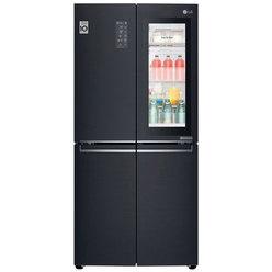 Холодильник с морозильной камерой 150 литров  LG GC-Q22FTBKL