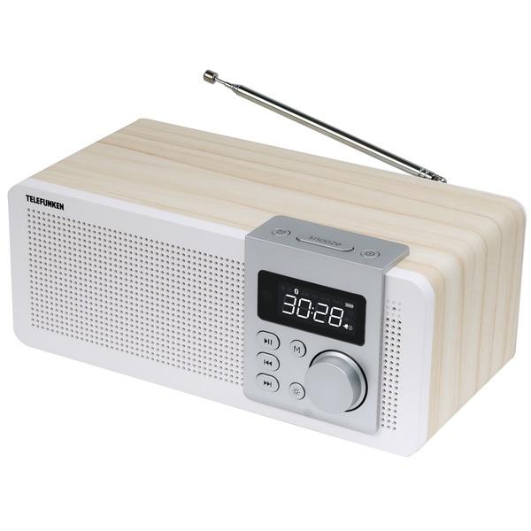 Радиоприемник Telefunken TF-1583UB, белый