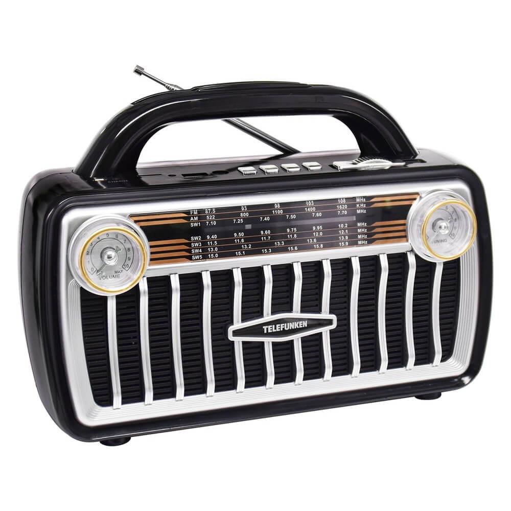 Радиоприемник Telefunken TF-1695U, чёрный