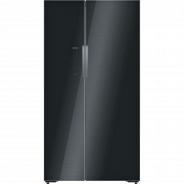Черный Холодильник Siemens KA92NLB35R