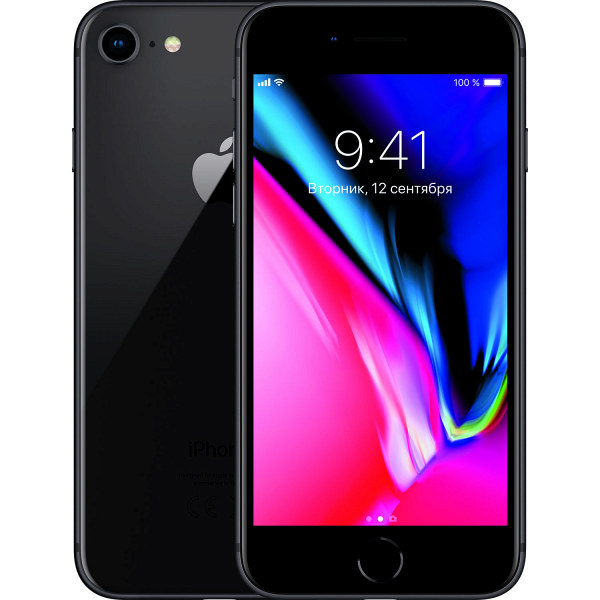 Смартфон Apple iPhone 8 64 ГБ серый космос фото