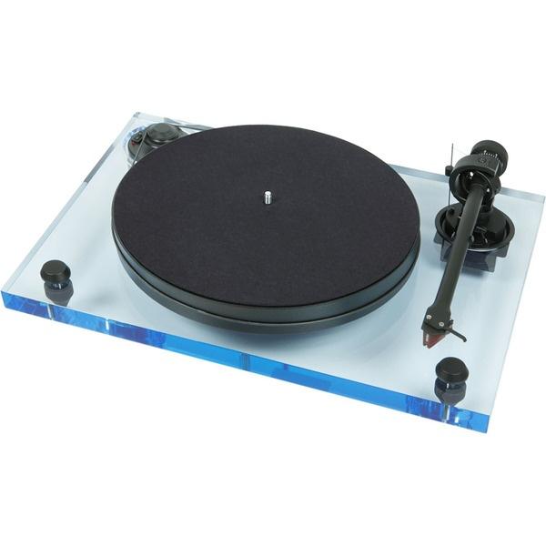 Проигрыватель виниловых пластинок Pro-Ject 2-Xperience Primary Acryl Bleu 2M Red.