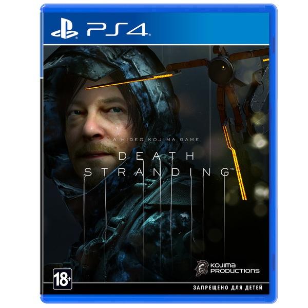 Death Stranding PS4, русская версия Sony
