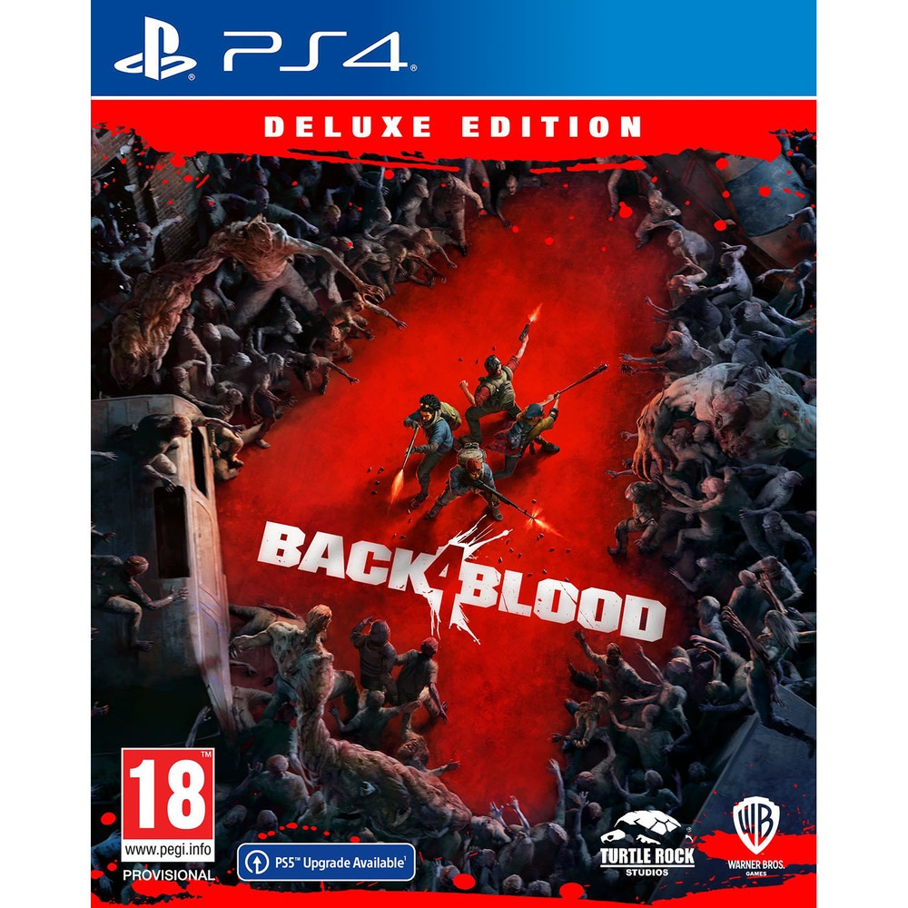 Back 4 Blood. Deluxe Edition PS4, русские субтитры Sony