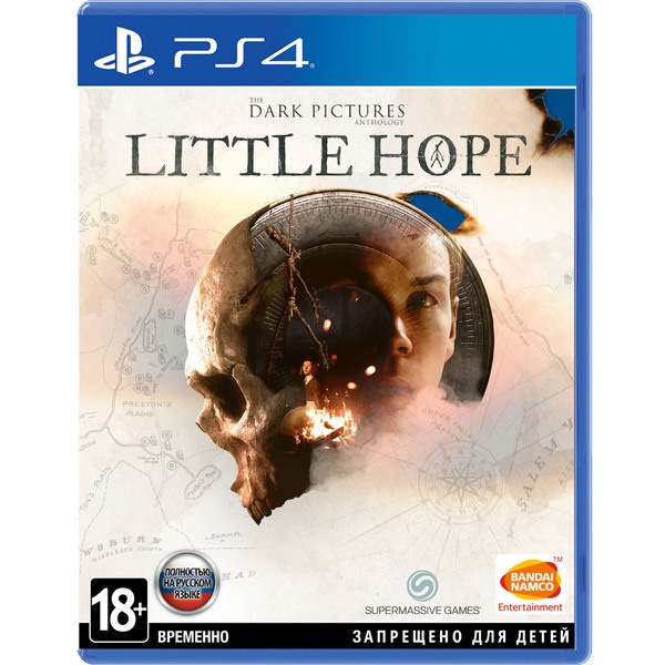 The Dark Pictures: Little Hope PS4, русская версия Sony