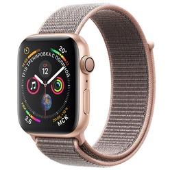 Умные часы Apple Watch Series 4 40 мм розовый песок, спортивный браслет