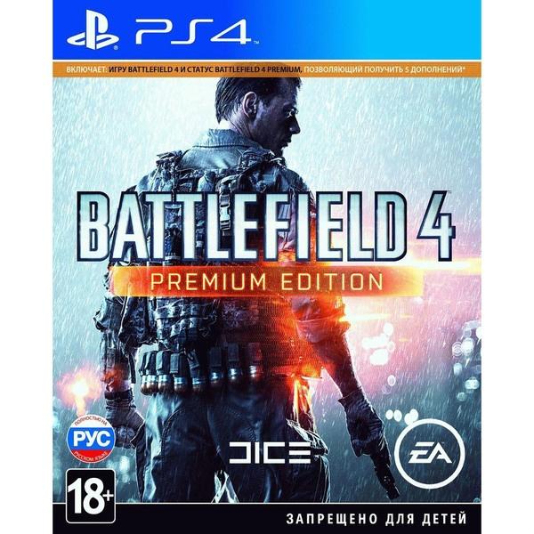 Battlefield 4 Premium Edition PS4, русская версия фото