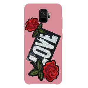SBS Ladies Love Patch для Samsung Galaxy S9, розовый