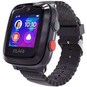 Детские умные часы Elari KidPhone 4G с Алисой, Black