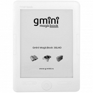 Электронная книга Gmini MagicBook S6LHD White