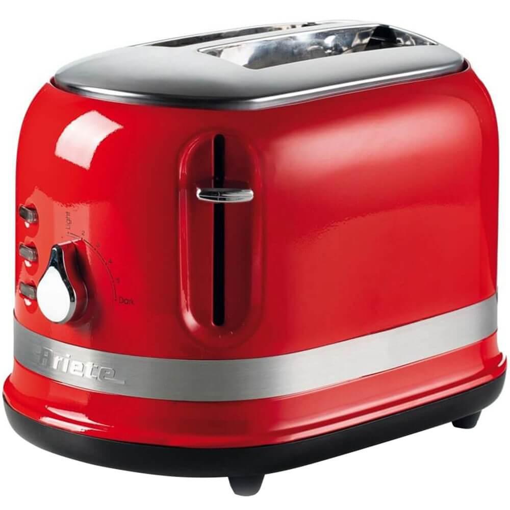 Тостер Ariete Moderna 0149 красного цвета