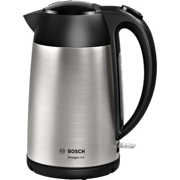 Чайник Bosch TWK3P420 серебристого цвета
