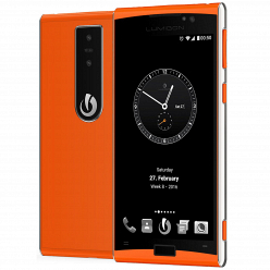 Смартфон Lumigon T3 steel orange