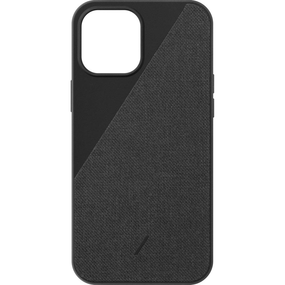Чехол для смартфона Native Union Clic Canvas Magnetic для iPhone 12 Pro Max, чёрный