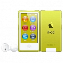 Цифровой плеер iPod Apple iPod nano 7 16Gb Yellow