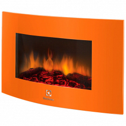 Электрокамин Electrolux EFP/W-1200URLS оранжевый