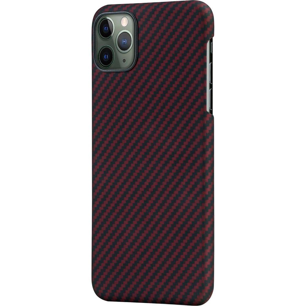 Чехол для смартфона Pitaka MagEZ KI1203PM для Apple iPhone 12 Pro Max, красно-чёрный