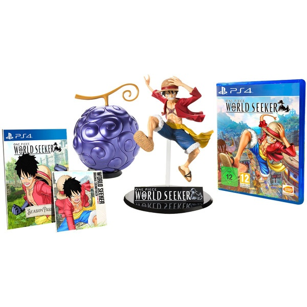 One Piece World Seeker The Pirate King Edition PS4, русские субтитры фото