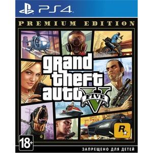 Grand Theft Auto V. Premium Edition PS4, русские субтитры