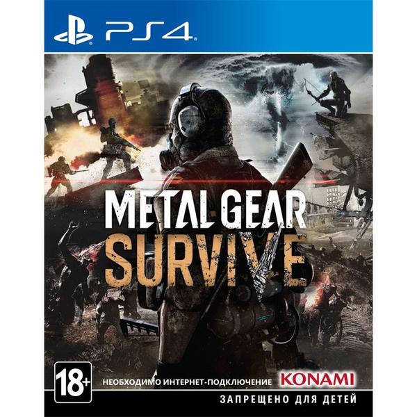 Metal Gear Survive PS4, русские субтитры фото