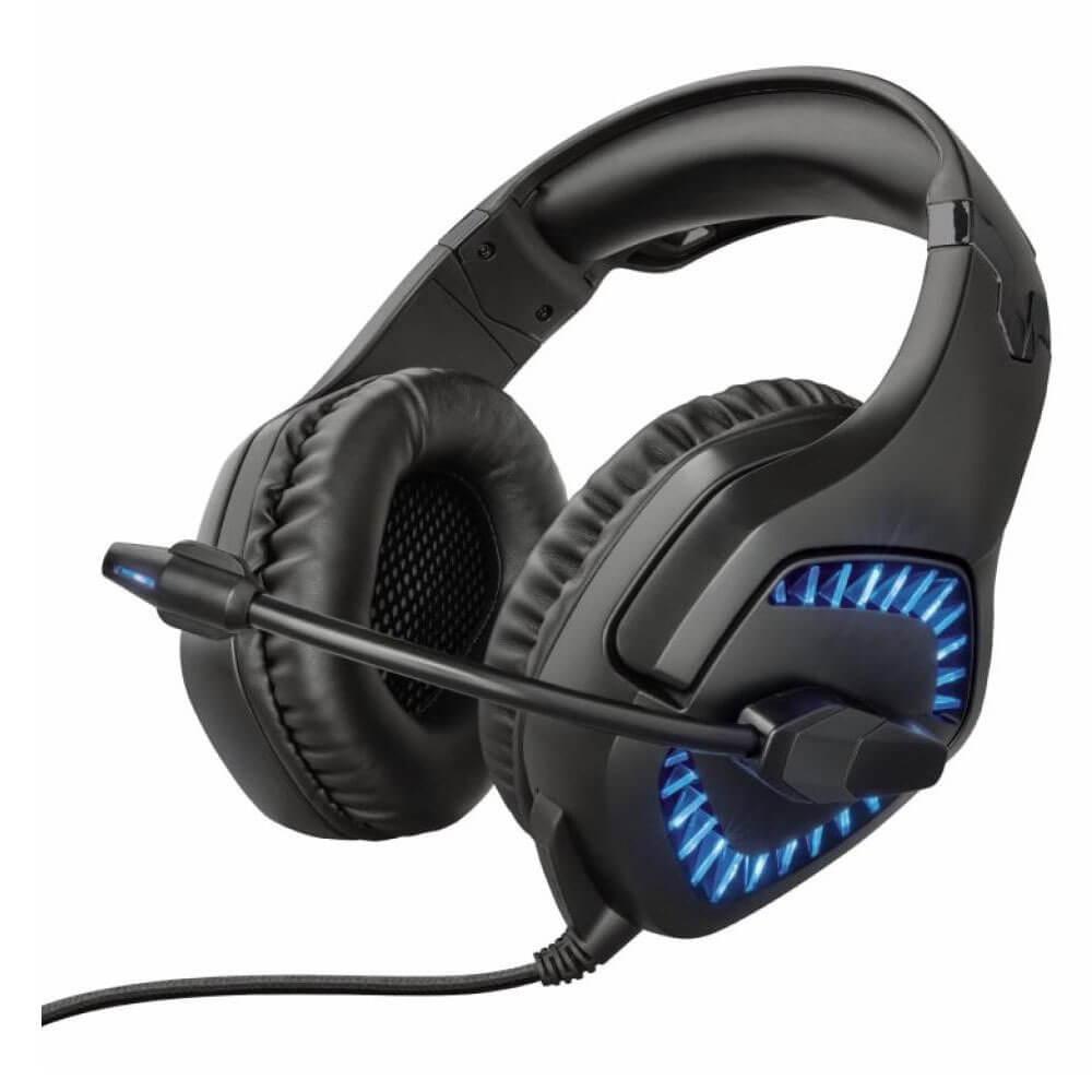 Компьютерная гарнитура Trust GXT460 Varzz черного цвета