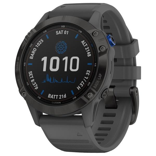 Смарт часы Garmin Fenix 6 Pro Solar