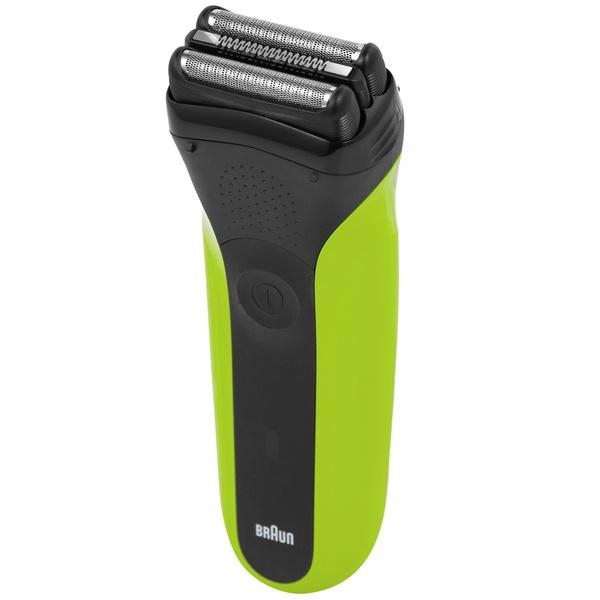 Электробритва мужская Braun Series 3 300s Green фото