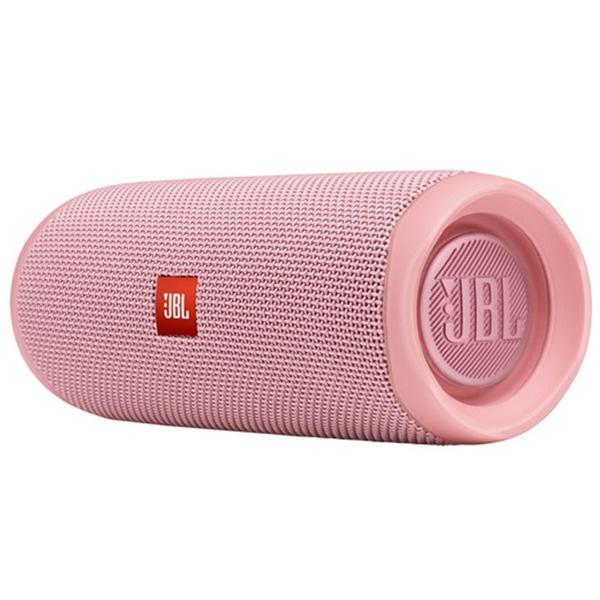 Портативная акустика JBL Flip 5 Pink, розовый  - купить со скидкой