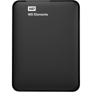Western Digital Elements Portable 2TB, black