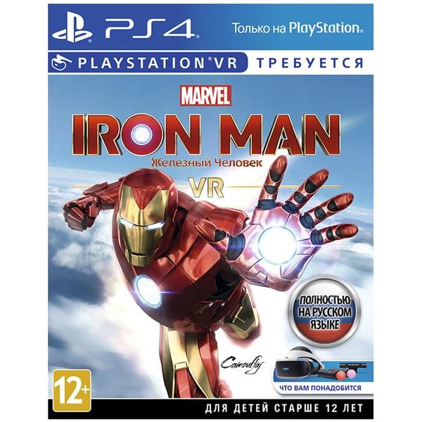 Marvel Iron Man VR (поддержка VR) PS4, русская версия Sony Marvel Iron Man VR (поддержка VR) PS4, рус
