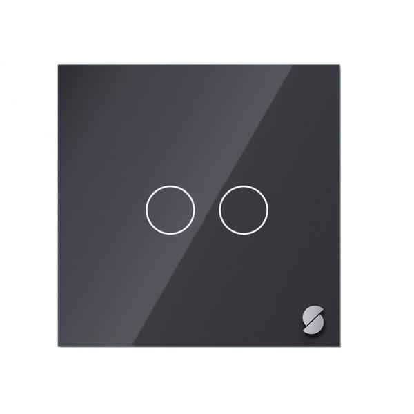 Беспроводной выключатель Sibling Powerlite-WS2B, чёрный