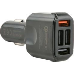 Автомобильное зарядное устройство Red Line AC4-30 4.8 А Quick Charge Black